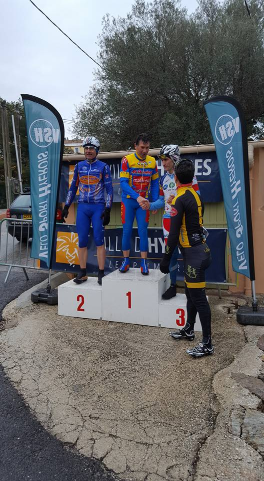 Jacques sur le podium